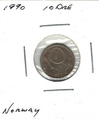 Norway 1990 10 0Re Coin