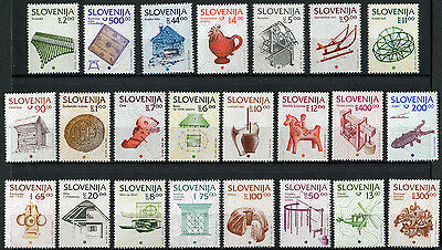 Slovenia Slovenian Set of different years Folk art History and cultural heritage