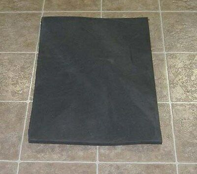 "29"" X 20"" X 3/4"" Neoprene closed cell foam"