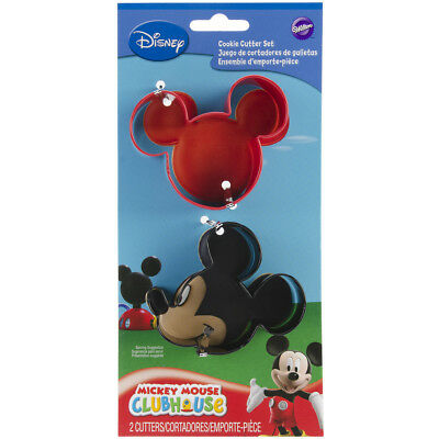 Metal Cookie Cutter Set 2/Pkg-Mickey Mouse