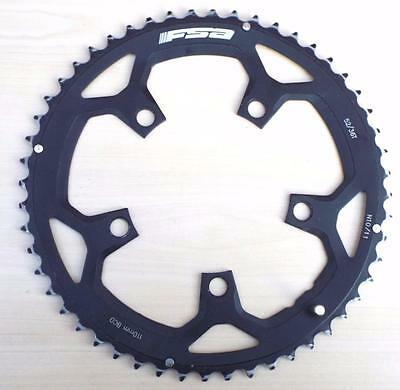 Fsa Wa050 52T 110Bcd 10 - 11 Speed Cnc 7075 Alloy Outer Chain Ring - Cyclocross