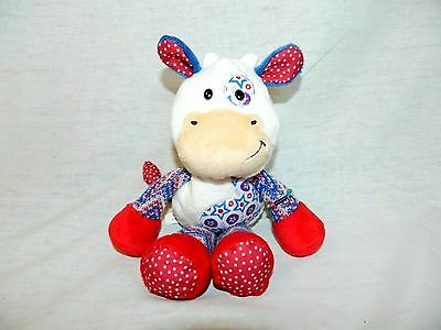 "Ganz NAKAMAS First Edition 10"" COW CHLOE  PLUSH ONLY NK108 Friendship Bracelet"
