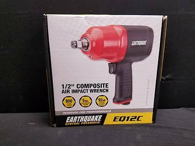 "Earthquake 1/2"" Composite Air Impact Wrench EQ12C BRAND NEW"