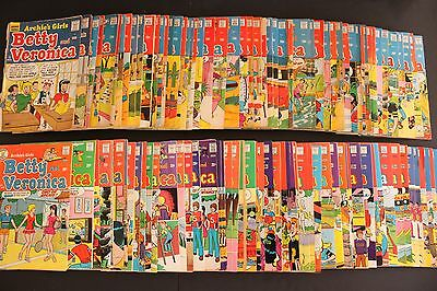 Betty and Veronica Lot of 125