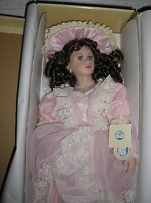 """Limited Edition """"Michelle"""" Three Hearts Doll From The Palmary Collection"""