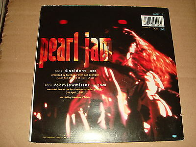 Pearl Jam - Dissident - Epic 1994 UK Special Edition Posterbag - Exc Cond