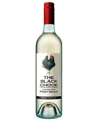 The Black Chook Pinot Grigio 2016 case of 6 Dry White Wine 750mL