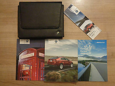 BMW X5/X6 Owners Handbook/Manual and Pack 07-11