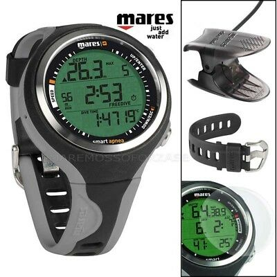 Mares Smart Computer Subacqueo Apnea Orologio Grey Interfaccia Dive Interface