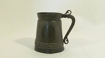 Apr. 13, 1880 Simpson Hall Miller & Co. Tankard Stein Cup Treble Plate -Mande