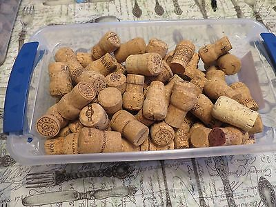 110 Used Champagne Corks - Perfect for Weddings Crafts Pinterest Decor FREE SHIP