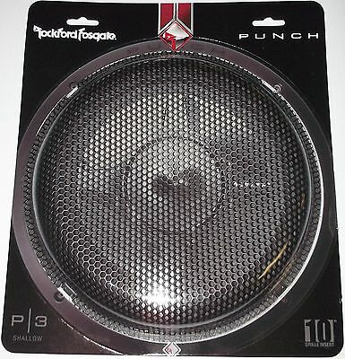 "Rockford Fosgate P3Sg-10 Mesh Grill P3 10"" Subwoofer Protector Grille New"