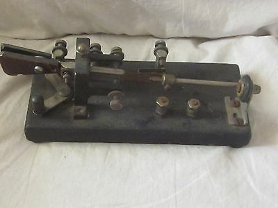 Old Telegraph Key made by Electric Specialty Mfg. Co.