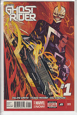 All New Ghost Rider #1 Second Print Variant Robbie Reyes Marvel Now 2014