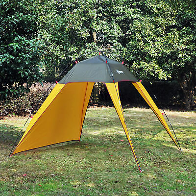 Outsunny Outdoor Folding Pop Up Beach Tent Sun Shade Shelter Camping Canopy