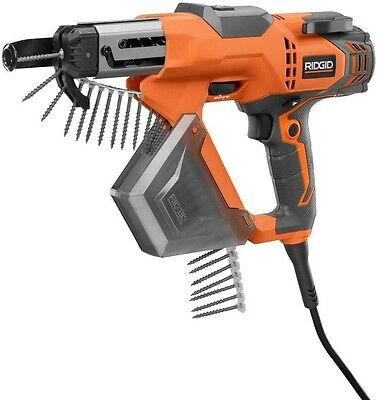 Drywall and Deck Collated Screwdriver Corded Electric Hex Grip and Contractor