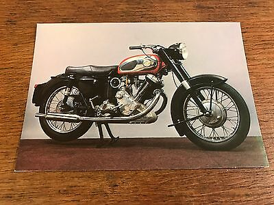 Vintage 1964 Panther 120S 650cc National Motorcycle Museum Postcard