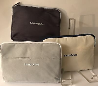 Lufthansa Samsonite Business Class Amenity Kits-Lot of 3 Different