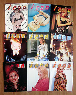 Official Madonna ICON Fan Club Magazines & Backstage Tour Passes - Value Pack #1