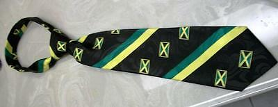 10 Jamaican Patriotic Flag Ties Wholesale lot for Choir