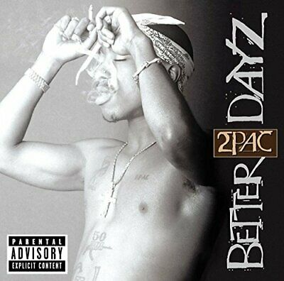2Pac - Better Dayz - 2Pac CD FKVG The Cheap Fast Free Post The Cheap Fast Free