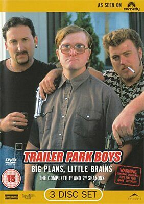 Trailer Park Boys: Complete Season 1 & 2 [DVD] - DVD  GIVG The Cheap Fast Free