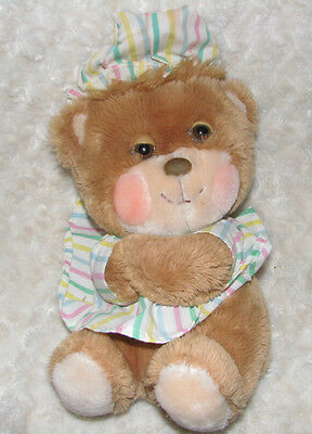 Vintage 1985 Fisher Price Teddy Beddy Bear Stuffed Toy Plush Animal 1401 11""