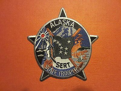 Collectible Alaska State Troopers Patch  New SERT
