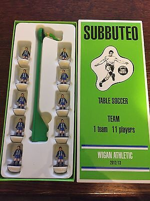 Subbuteo Legends / Leggenda Vintage Team - Wigan Athletic 2012/13