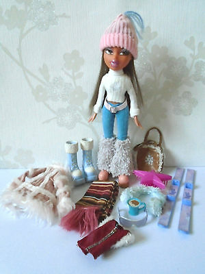 Bratz Wintertime Wonderland Yasmin Doll with Clothes and Accessories
