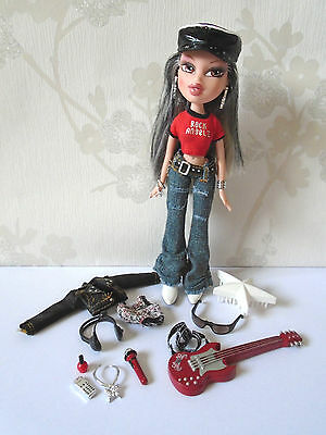 Bratz Rock Angelz Jade Doll with Clothes and Accessories