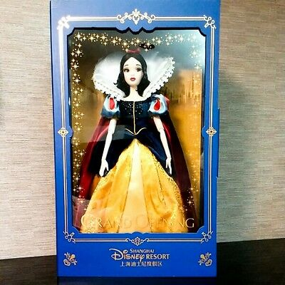 Snow White Shanghai Disney Resort Grand Opening Figure Doll 1200 Limited NEW F/S
