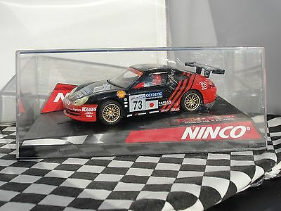 Ninco Porsche 911 Gt3 Black/red #73  50241  1:32 New Old Stock Boxed