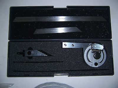 """UNIVERSAL BEVEL PROTRACTOR with MAGNIFIER 0 to 360 deg """"NEW"""""""