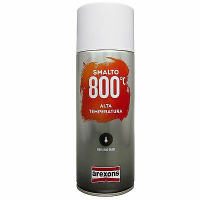 Vernice Spray Alte Temperature Rosso Arexons 400 ml _ Smalto, Bomboletta