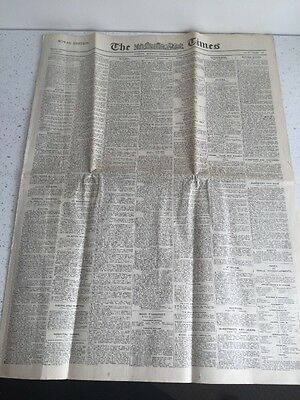 THE TIMES - LONDON - Monday 4th January 1926 - ROYAL EDITION - Vintage Newspaper