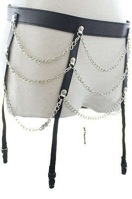 Strapsgürtel mit Ketten/Gartner belt with chains