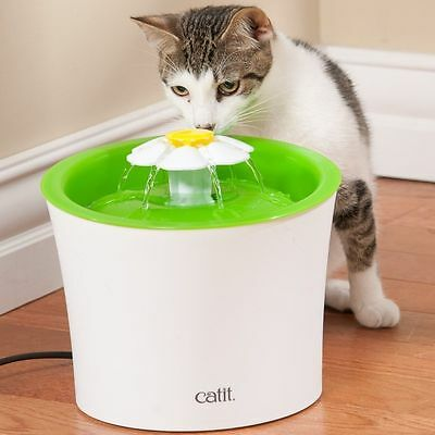 Catit 2.0 Flower Cat Small Dog Electric Automatic Water Drinking Fountain