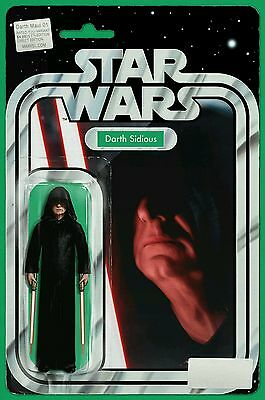 Star Wars Darth Maul #1 Jtc Darth Sidious Action Figure Variant Marvel Presale