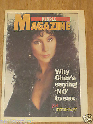 Cher-Michael Winner People Magazine Ltd-Supplement-United Kingdom-March 31-1991