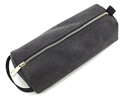 Rough Enough Highly Heavy Canvas Military Classic Small Tool Pencil Case Pouch (