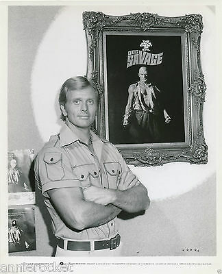 "Ron Ely-Doc Savage The Man of Bronze-Warner Bros.8"" x 10""  B & W Photo-#75-1975"