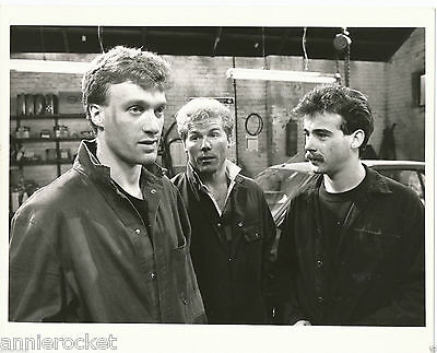 Coronation Street-Brian Tilsley-Michael LeVell-Granada B & W Photo-#302-1988