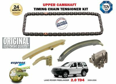 For Land Rover Freelander Td4 Range Rover 2000-2006 Camshaft Timing Chain Kit