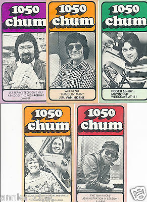 CHUM Charts-Roger Ashby-Terry Steele-846-855-858-859-860-Sept-Nov-Dec-#735-1973