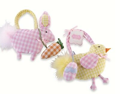 Mud Pie Little Girl Easter Cottontail Bunny or Chick Purse