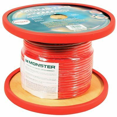 Monster Cable 100% OFC Copper 100Ft 10 AWG Gauge Power/Ground/Speaker Car Wire
