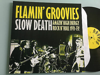 LP USA 2002 NM  The Flamin' Groovies ‎– Slow Death (Amazing High Energy