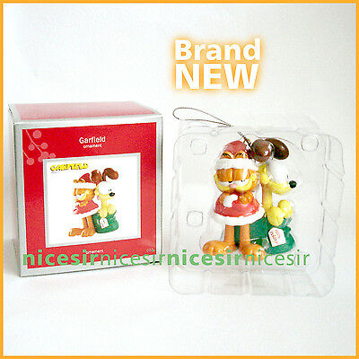 Carlton Heirloom American Greetings Garfield Cat Friend Odie Dog Xmas Ornament