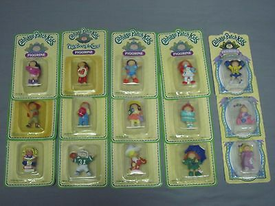Cabbage Patch Kid PVC Figurine Lot 15 MOC MOSC NEW Panosh Place 1984 1985 Mini